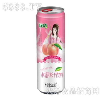 缘情水蜜桃汁饮料310ml