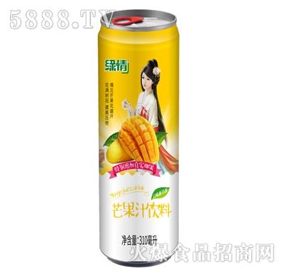 缘情芒果汁饮料