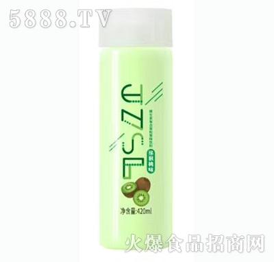 JZSL维生素复合果粒果味饮料猕猴桃味420ml