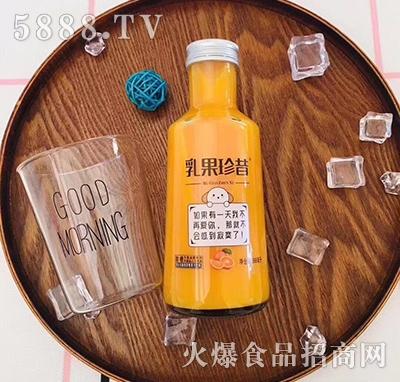 乳果珍昔甜橙味复合乳酸菌果汁398ml