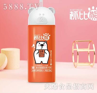 杯比熊350ml荔枝味果汁