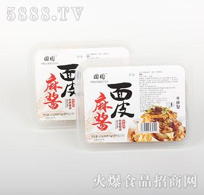 国圆麻酱面皮干拌型123g