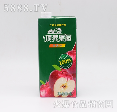 顶养果园苹果汁1L