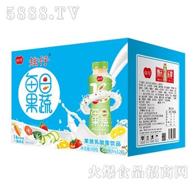 炫仔每日果蔬乳酸菌饮料420mlx12