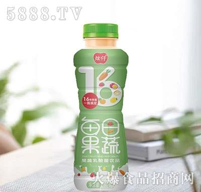 炫仔每日果蔬乳酸菌饮料410ml