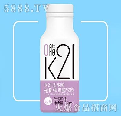 K21益生菌植物慢发酵饮料台湾风味350ml