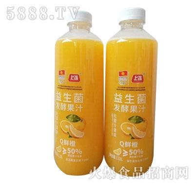 上首益生菌发酵果汁