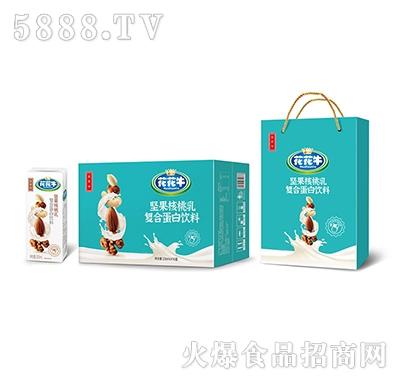 花花牛坚果核桃乳复合蛋白饮料250ml×18盒