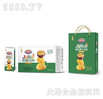 花花牛复合果汁饮料250ml×18盒