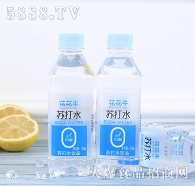 花花牛苏打水饮品375ml
