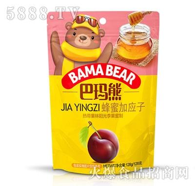 巴玛熊蜂蜜加应子128g