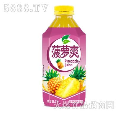 威明菠萝果味饮料1L