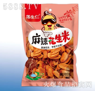 落生仁麻辣花生米(袋)产品图