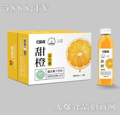 亿益滋甜橙复合果汁饮料480mlX15