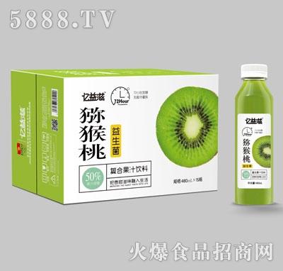 亿益滋猕猴桃复合果汁饮料480mlX15