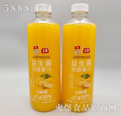 上首益生菌发酵鲜橙汁1.18L