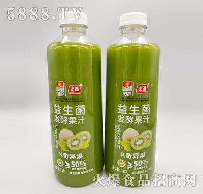 上首益生菌�l酵奇��果汁1.18L