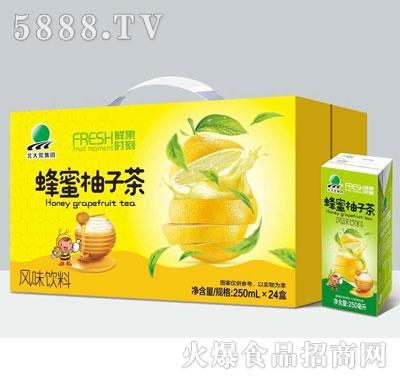 鲜果时刻蜂蜜柚子茶风味饮料