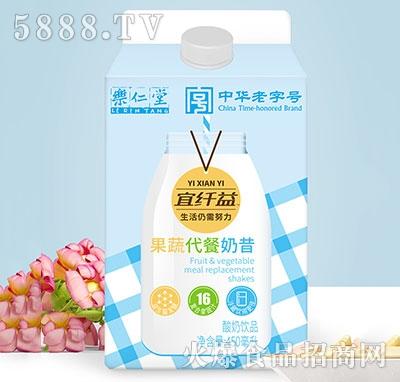 �啡侍霉�蔬代餐奶昔酸奶450ml