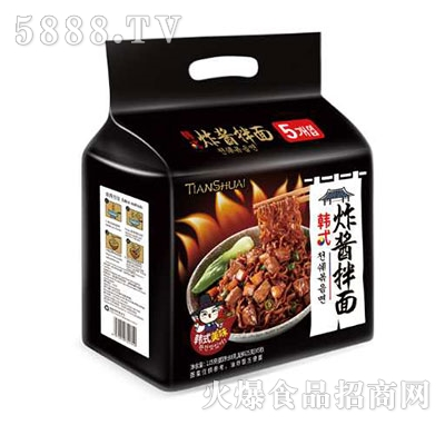 韩式炸酱拌面115g产品图