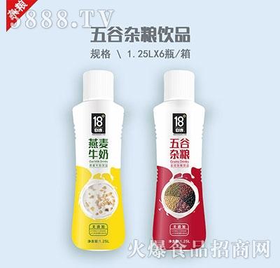 18℃五谷杂粮饮料1.25L