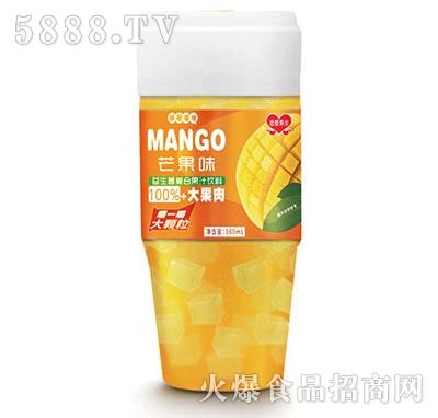 恋爱果实益生菌芒果果粒果汁380ml