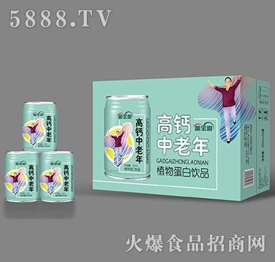 加宝露高钙中老年植物蛋白饮料