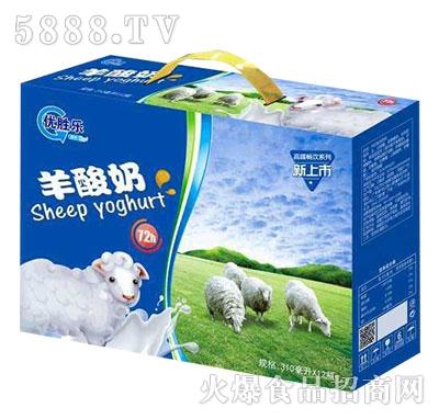 优胜乐羊酸奶饮品310mlx12