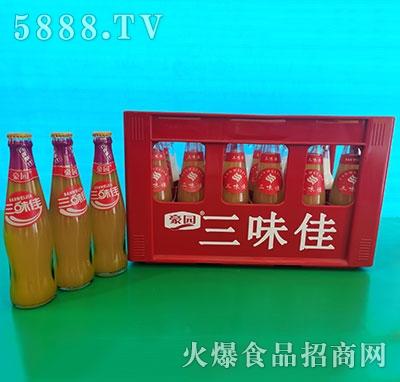 豪园三味佳百香果汁