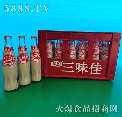 豪园三味佳豆奶饮品