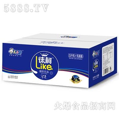 三色牛�瓶滤崮桃�品450mlx15盒