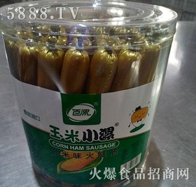 玉米小漯玉米味火腿肠桶装