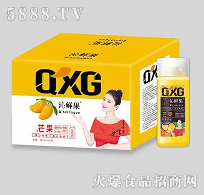 沁鲜果+芒果复合果汁饮料420ml×15瓶