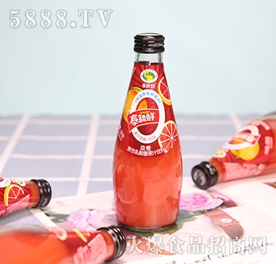 泰新鲜血橙复合乳酸菌果汁饮料280ml
