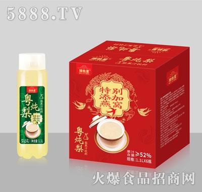 维他星粤炖梨梨果汁饮料1.1LX6瓶
