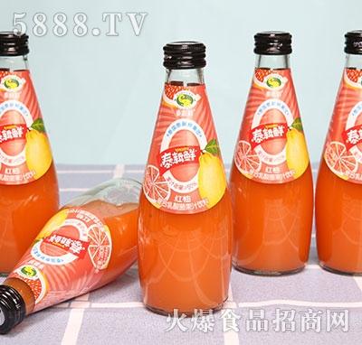 泰新鲜红柚复合乳酸菌果汁饮料280ml