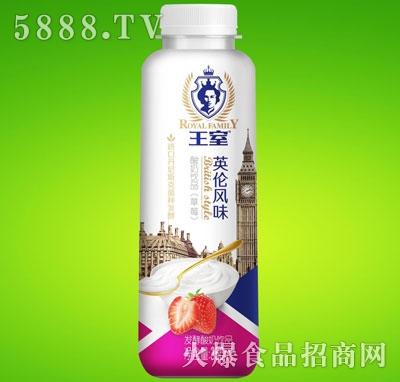 王室酸奶饮品草莓味350ml