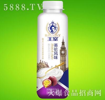 王室酸奶百香果味350ml