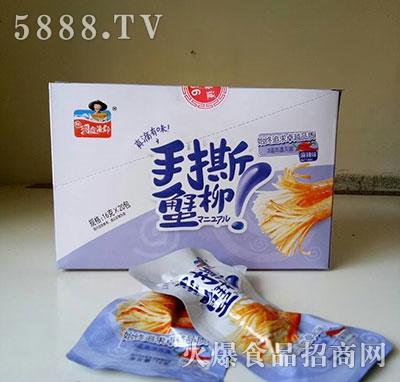 凌妹手撕蟹柳麻辣味16gx20