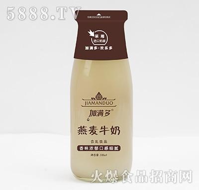 加满多燕麦牛奶