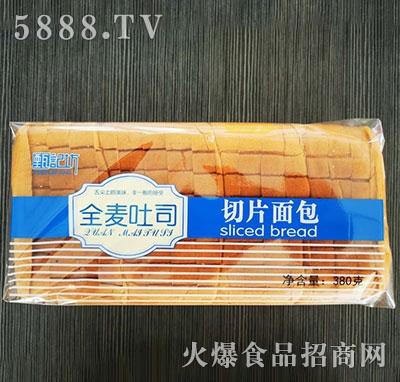 甄记坊全麦吐司切片面包380g