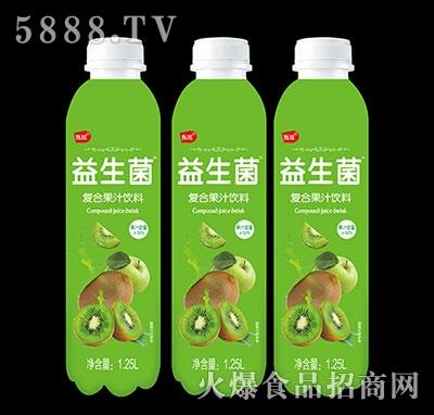 甄瑶猕猴桃益生菌复合果汁饮料1.25L