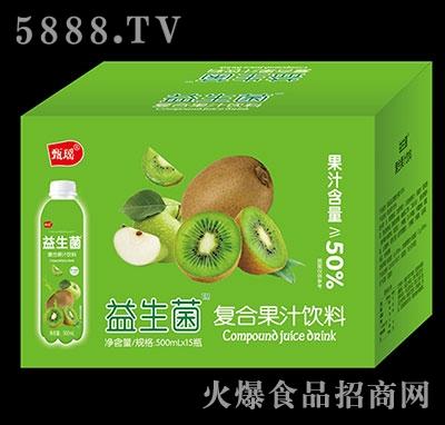 甄瑶猕猴桃益生菌复合果汁饮料500ml×15瓶