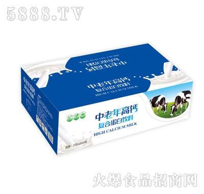 达利园企业中老年高钙复合蛋白饮料250mlX16