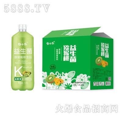 白小乐益生菌猕猴桃味饮料1.25LX6