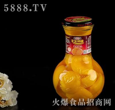 张氏宏宏和和黄桃罐头
