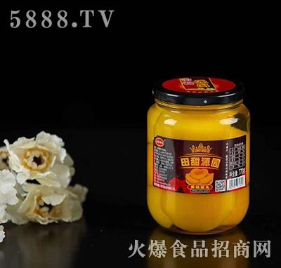 田甜源园黄桃罐头