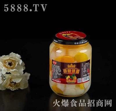 田甜源园复合型水果罐头