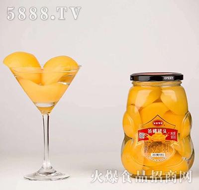 田甜源园黄桃罐头(900克)