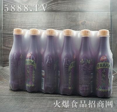 笑连连老北京葡萄汽水产品图